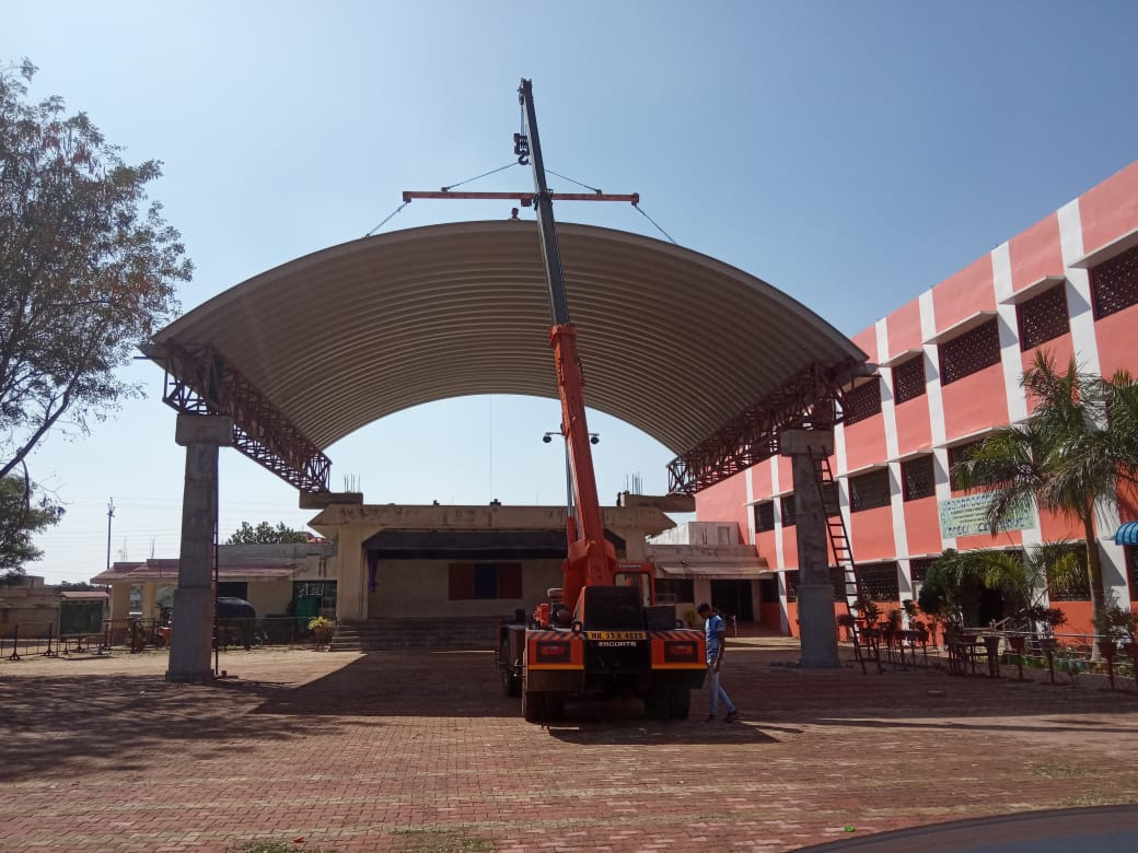 the best roofing company in India, Self Supported Roofing, Trussless Roofing, Arch Roofing, Dome Roofing, Proflex Roofing